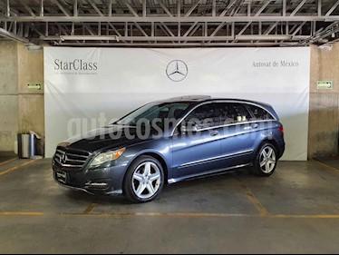 Mercedes Benz Clase R 5p R 350 L aut usado (2012) color Gris precio $269,000
