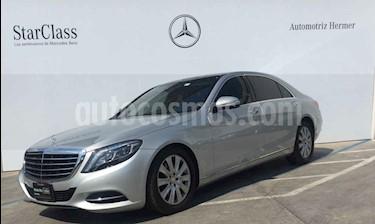 Foto venta Auto usado Mercedes Benz Clase S 400 CGI L Bi-Turbo (2015) color Plata precio $955,900