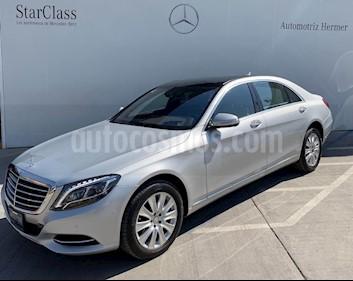 Foto venta Auto usado Mercedes Benz Clase S 400 CGI L Bi-Turbo (2016) color Plata precio $999,900