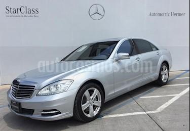 Foto venta Auto usado Mercedes Benz Clase S 500 (388Hp) (2010) color Plata precio $474,900