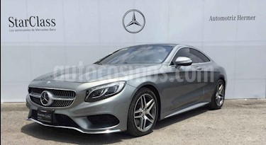 Mercedes Benz Clase S 500 CGI L Bi-Turbo (435Hp) usado (2015) color Plata precio $1,149,900