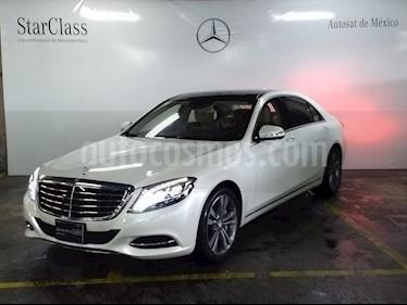 Foto venta Auto usado Mercedes Benz Clase S 500 CGI L Bi-Turbo (466Hp) (2014) color Blanco precio $1,489,000