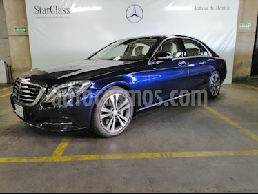 Foto Mercedes Benz Clase S 500 CGI L Bi-Turbo (466Hp) usado (2014) color Azul precio $1,249,000