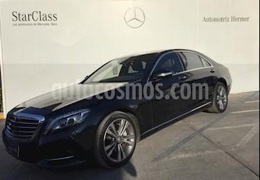 Foto venta Auto usado Mercedes Benz Clase S 500 (2017) color Negro precio $1,696,900