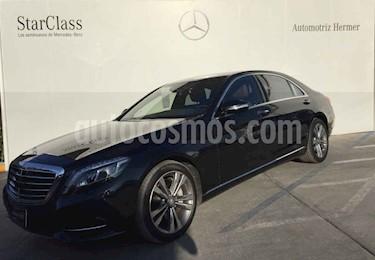 Foto venta Auto usado Mercedes Benz Clase S 500 (2017) color Negro precio $1,499,900