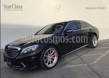 Foto venta Auto usado Mercedes Benz Clase S 500 (2017) color Negro precio $1,780,000