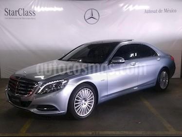 Foto venta Auto usado Mercedes Benz Clase S 600 L Bi-Turbo Guard (2017) color Azul precio $2,199,000