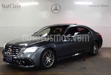 Foto venta Auto usado Mercedes Benz Clase S 63 AMG Biturbo (2019) color Gris precio $2,699,000