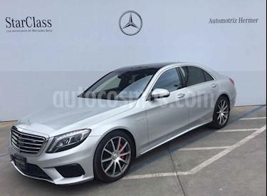 Foto venta Auto usado Mercedes Benz Clase S CoupA© 63 AMG 4MATIC (2016) color Plata precio $1,699,900