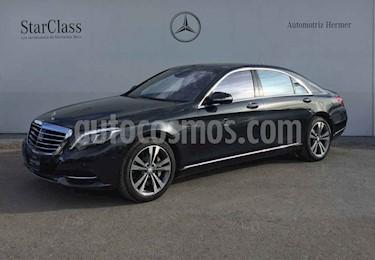 Mercedes Benz Clase S 500 CGI L Bi-Turbo (466Hp) usado (2015) color Gris precio $819,900