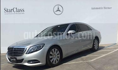 Mercedes Benz Clase S 4p S 400 L V8/4.6/T Aut usado (2016) color Plata precio $849,900