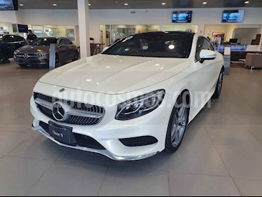 Mercedes Benz Clase S 2p S 500 Coupe V8/4.7/T Aut usado (2018) color Blanco precio $1,999,999