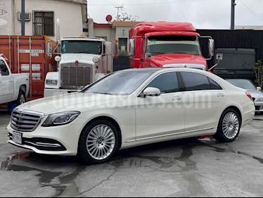 Mercedes Benz Clase S 560 usado (2019) color Blanco precio $2,080,000