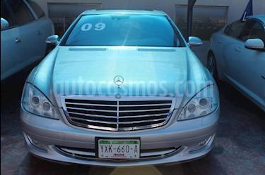 Mercedes Benz Clase S 500 CGI L Bi-Turbo (435Hp) usado (2009) color Plata precio $380,000