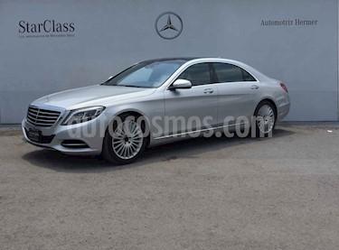 Mercedes Benz Clase S 400 CGI L Bi-Turbo usado (2016) color Plata precio $819,900