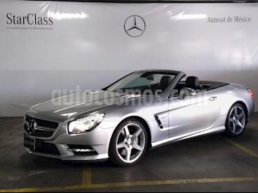 Foto venta Auto usado Mercedes Benz Clase SL 500 CGI Biturbo (2014) color Plata precio $1,199,000