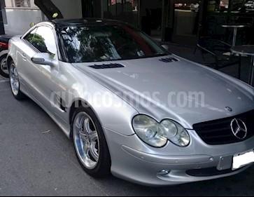 Foto venta Auto usado Mercedes Benz Clase SL 500 (2002) color Gris Claro precio $3.160.000