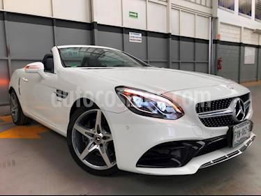 Foto venta Auto usado Mercedes Benz Clase SLC 300 (2018) color Blanco precio $750,000