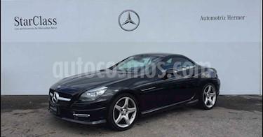 Foto venta Auto usado Mercedes Benz Clase SLK 200 CGI (2016) color Negro precio $499,900