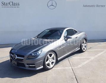 Foto venta Auto usado Mercedes Benz Clase SLK 200 CGI (2016) color Gris precio $519,900