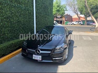 Foto venta Auto usado Mercedes Benz Clase SLK 200 CGI (2013) color Negro precio $490,000