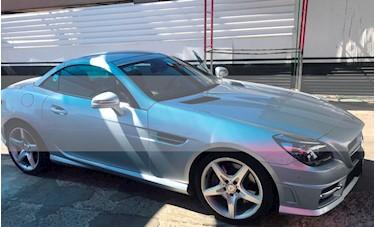 Foto venta Auto usado Mercedes Benz Clase SLK 200 CGI (2013) color Plata Iridio precio $338,000