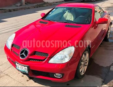 foto Mercedes Benz Clase SLK 200 K Aut usado (2009) color Rojo precio $250,000