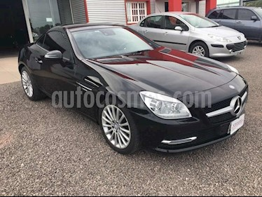 foto Mercedes Benz Clase SLK 250 Blue Efficiency usado (2013) color Negro precio $2.800.000