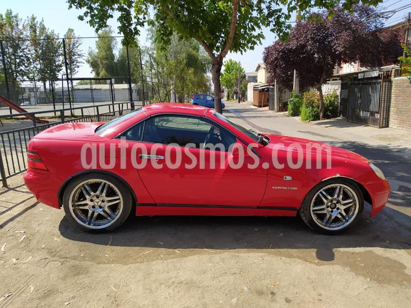 Mercedes Benz Clase SLK 230 K usado (2001) color Rojo precio $4.000.000