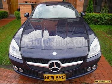 Mercedes Benz Clase SLK 200 usado (2013) color Azul precio $65.000.000