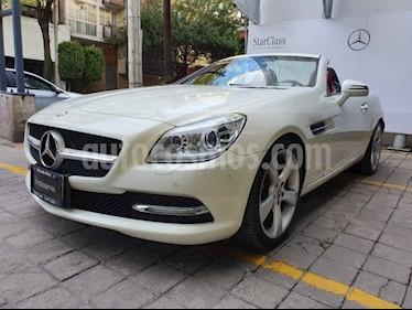 foto Mercedes Benz Clase SLK 200 K Aut usado (2012) color Blanco precio $350,000