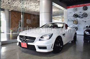 Mercedes Benz Clase SLK 55 AMG usado (2013) color Blanco precio $629,900