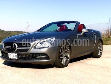Mercedes Benz Clase SLK 350 usado (2012) color Gris precio $375,000