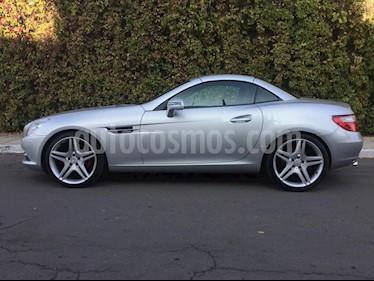 Mercedes Clase SLK 200 K Aut usado (2012) color Plata precio $330,000
