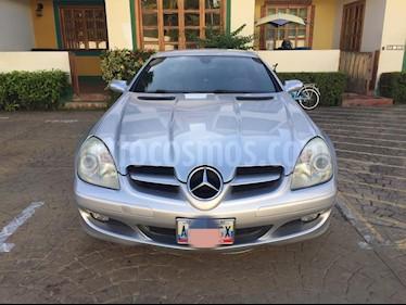Mercedes Benz Clase SLK 200 L4,2.0i,16v A-S2 1 usado (2005) color Gris precio BoF16.500