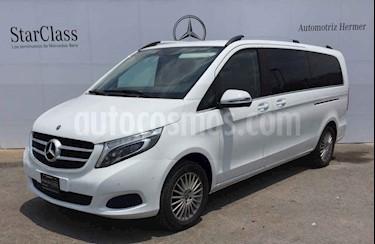 Foto venta Auto usado Mercedes Benz Clase V 250 7 Pasajeros Larga (2018) color Blanco precio $875,900
