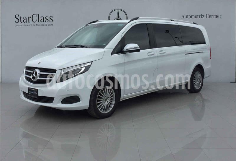 Mercedes Clase V 250 Avantgarde 7 Pasajeros Larga usado (2019) color Blanco precio $749,900
