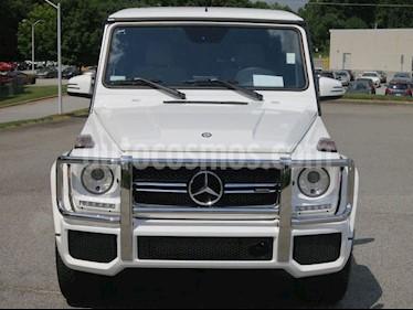 Mercedes Benz Gelaendewagen G500 V8,5.0i,24v A 2 2 usado (2016) color Blanco precio BoF25.000