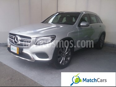 Foto venta Carro usado Mercedes Benz GLC 250 4Matic  (2018) color Plata precio $134.990.000