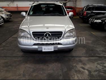 Foto venta Auto Usado Mercedes Benz M - (1999) color Gris Plata  precio $295.000