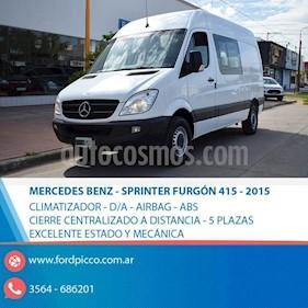 Foto venta Auto usado Mercedes Benz Sprinter Furgon 415 3250 TN V1 (2015) color Blanco precio $1.150.000