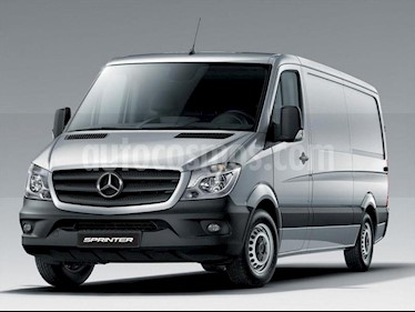 Mercedes Benz Sprinter Street Furgon 411 3250 TN V1 usado (2019) color Blanco precio $2.590.000