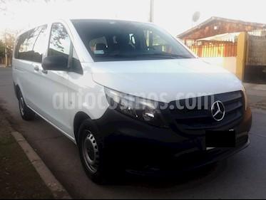 Mercedes Benz Vito 2.1L Tourer 114 10+1  usado (2017) color Blanco precio $16.500.000
