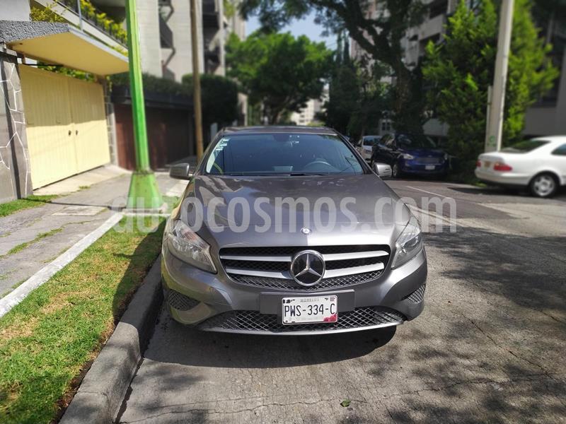 Mercedes Clase A 180 CGI Aut usado (2016) color Gris Montana precio $230,000