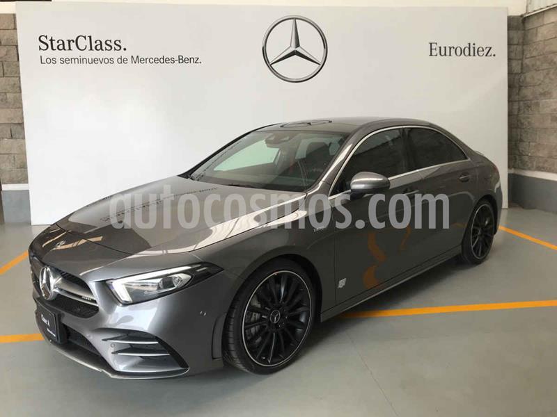 Mercedes Clase A 35 AMG 4MATIC Sedan usado (2020) color Gris precio $999,900
