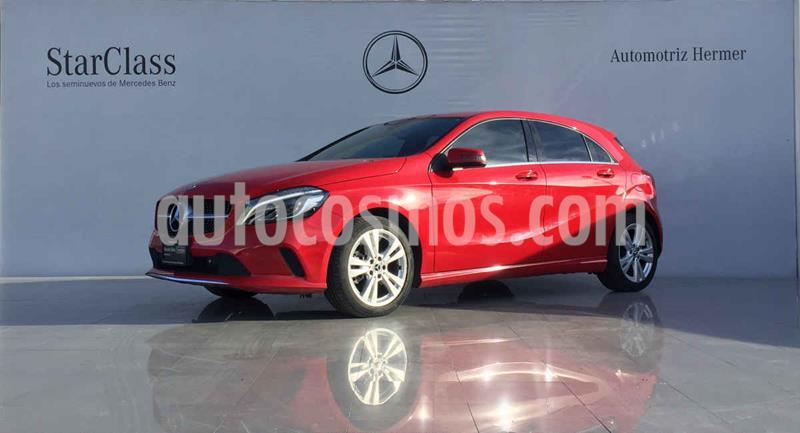 Mercedes Clase A 200 CGI Urban Aut usado (2018) color Rojo precio $399,900