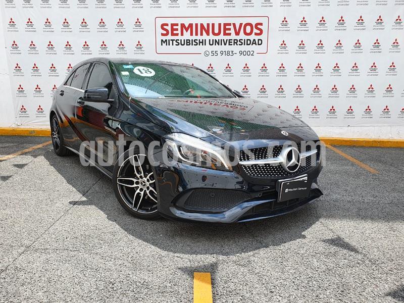 Mercedes Clase A 200 Sport usado (2018) color Negro precio $449,000