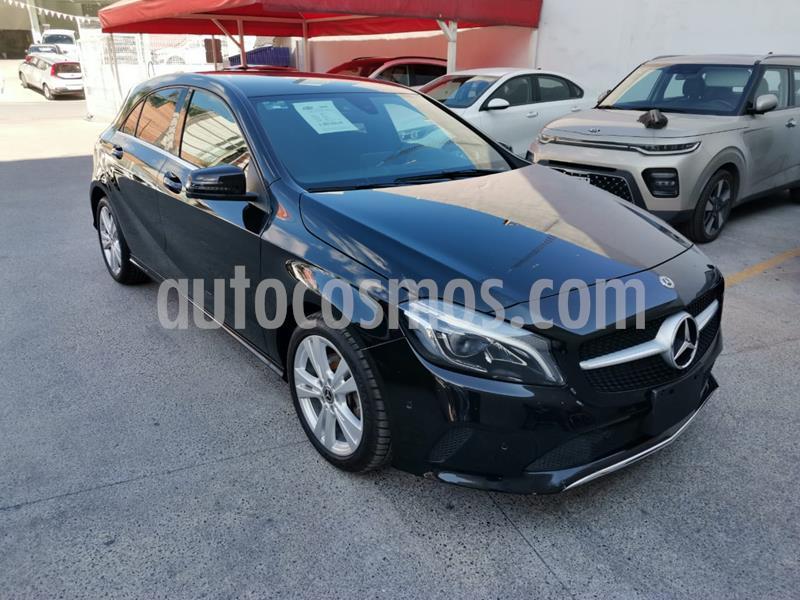 Mercedes Clase A 200 CGI Urban Aut usado (2018) color Negro precio $380,000