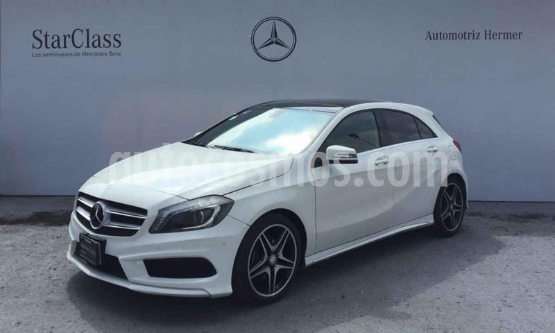 Mercedes Clase A 200 CGI Sport Aut usado (2016) color Blanco precio $324,900
