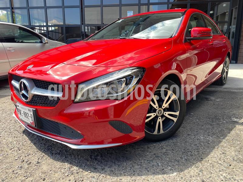 Mercedes Clase B 200 Sport usado (2018) color Rojo Jupiter precio $380,000